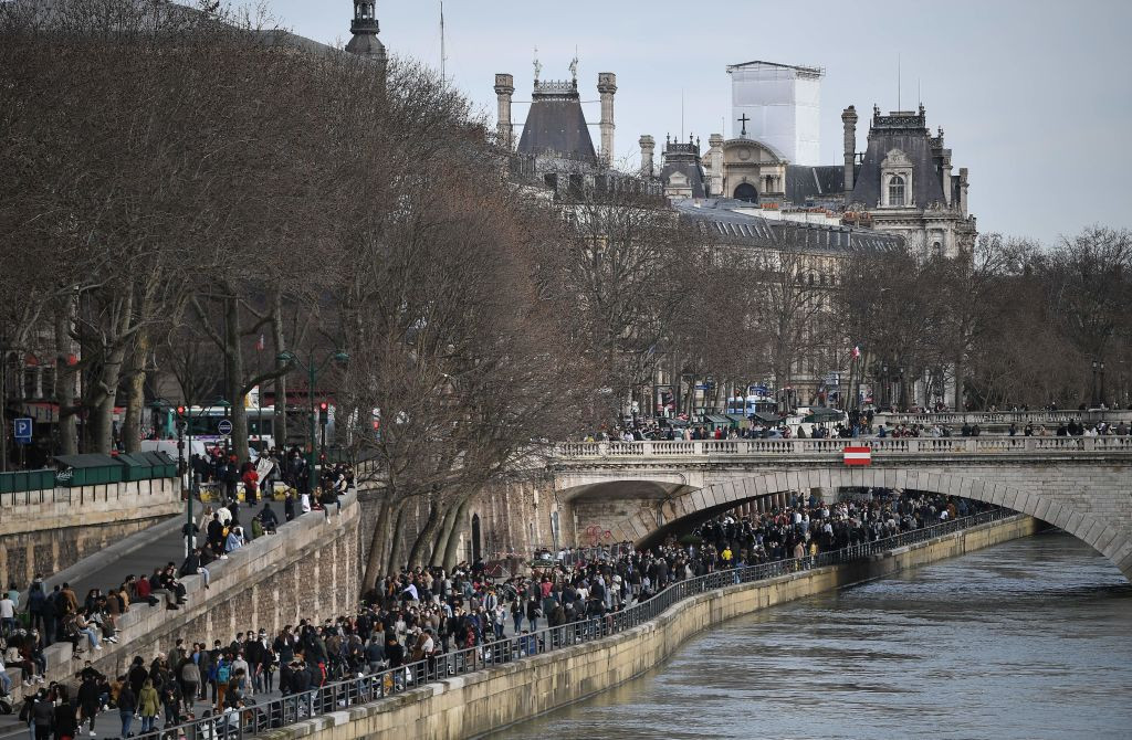 Paris 2024 President Tony Estanguet says the Seine is being considered as one of the sites for Opening and Closing Ceremonies at the Games ©Getty Images