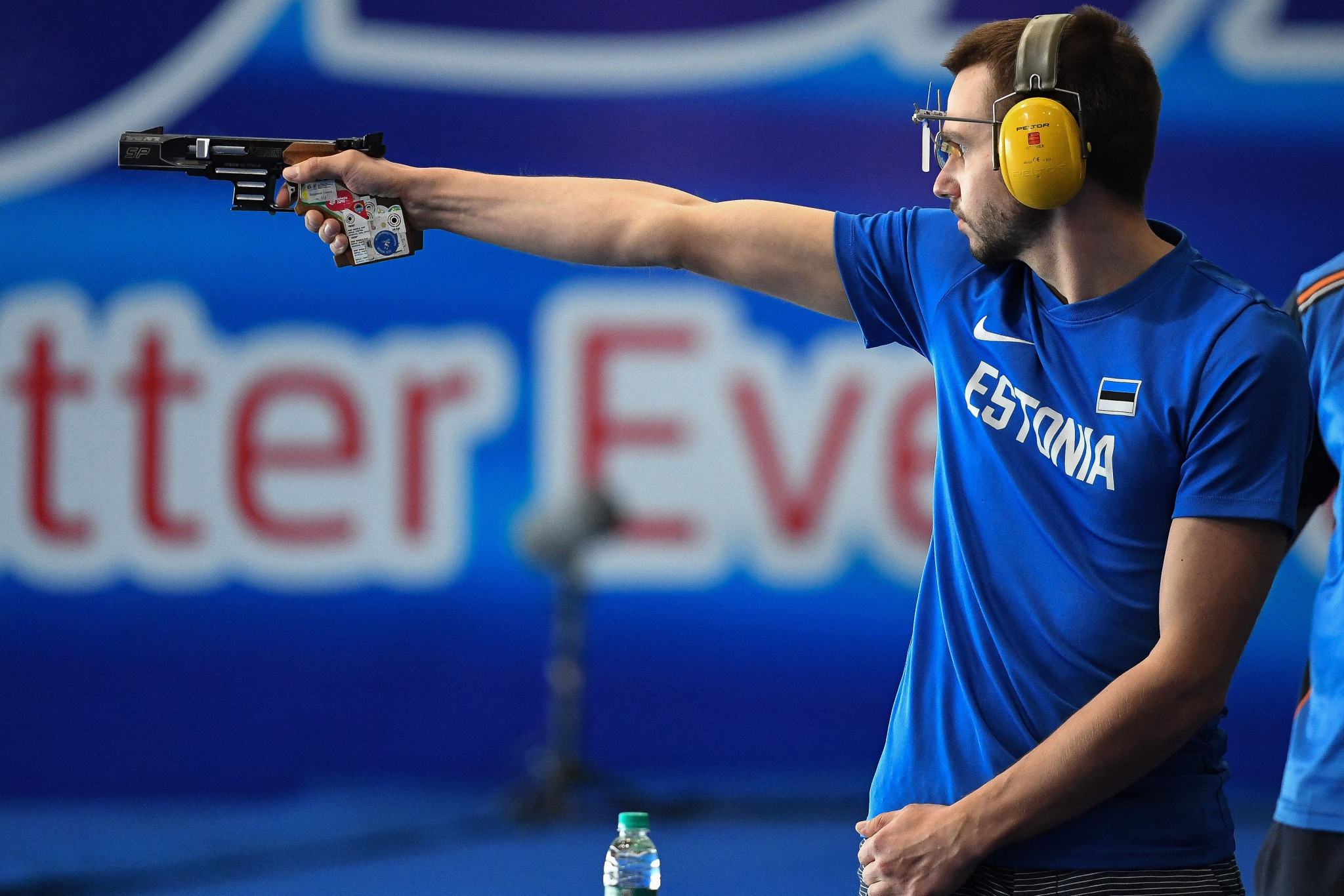 Olesk wins shoot-off to top pistol podium at ISSF World Cup