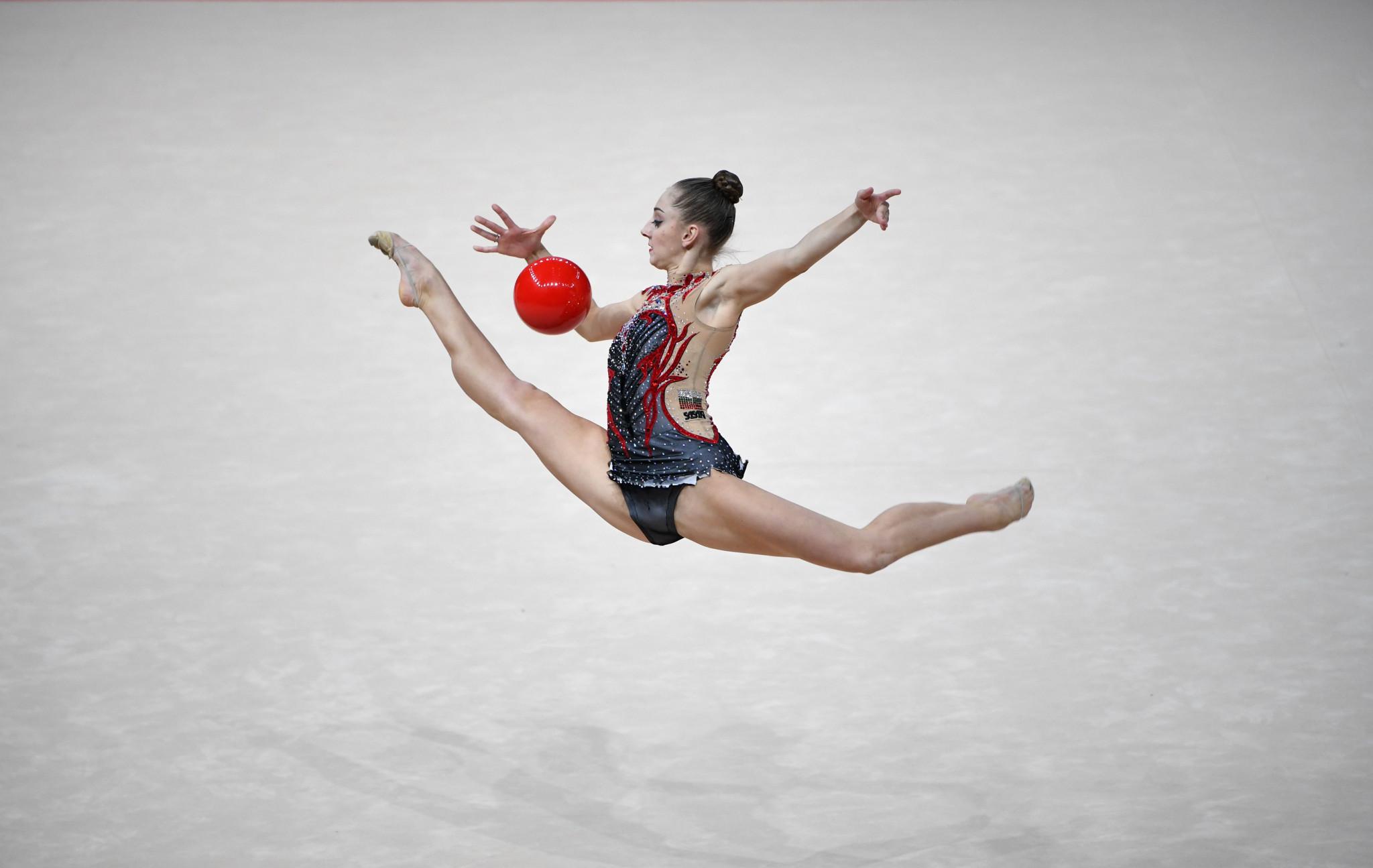 Kaleyn and Ashram impress at FIG Rhythmic Gymnastics World Cup in Sofia