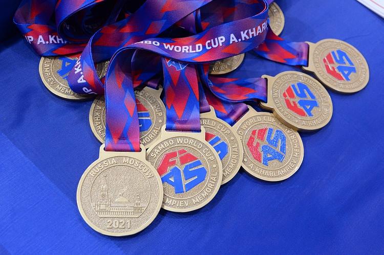 Russia sweep team titles at Kharlampiev Memorial Sambo World Cup