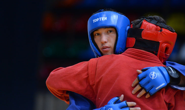 The Kharlampiev Memorial Sambo World Cup concluded in Moscow today ©FIAS