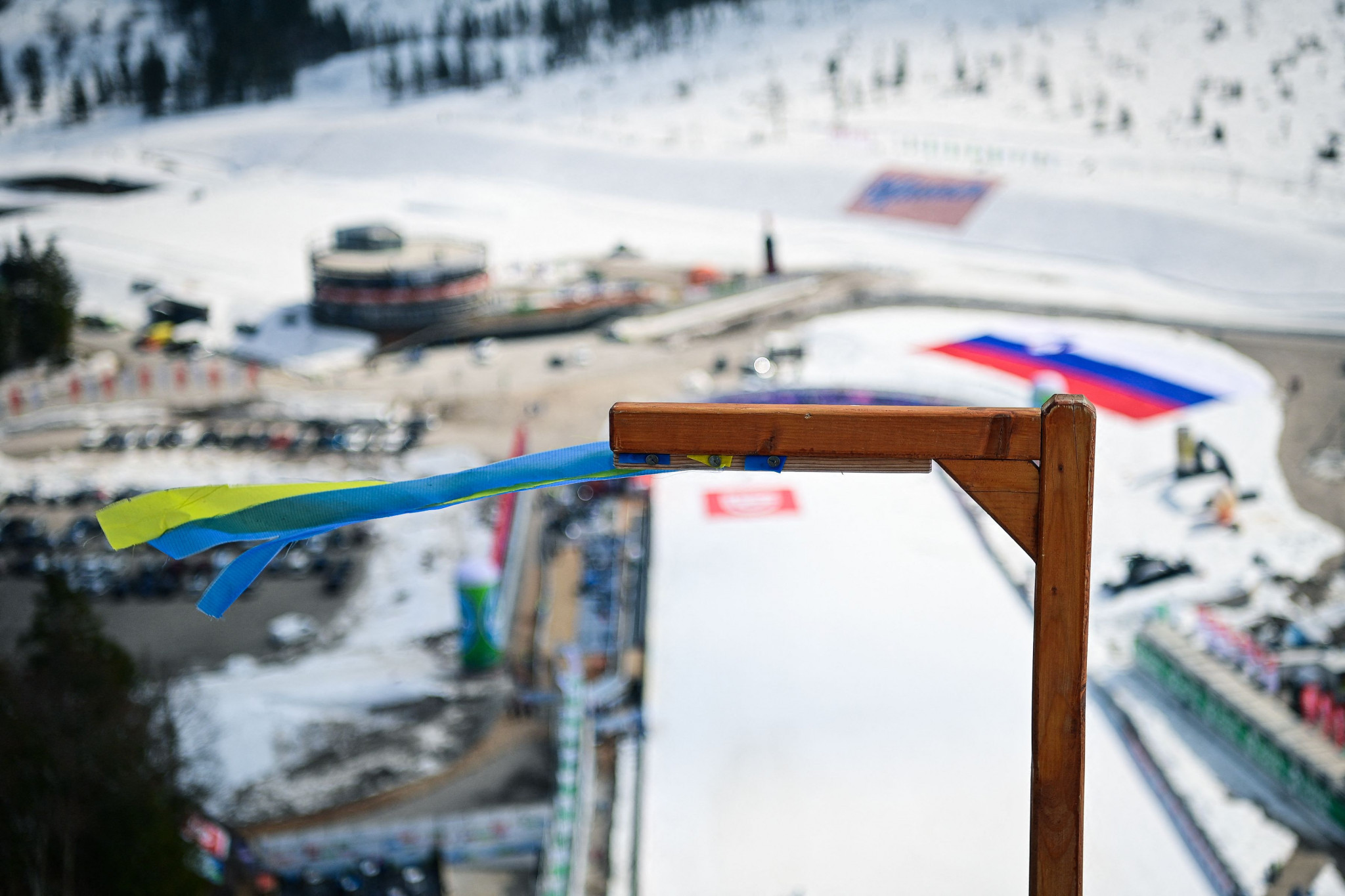 Wind stops Ski Jumping World Cup legs in Planica and Chaikovsky