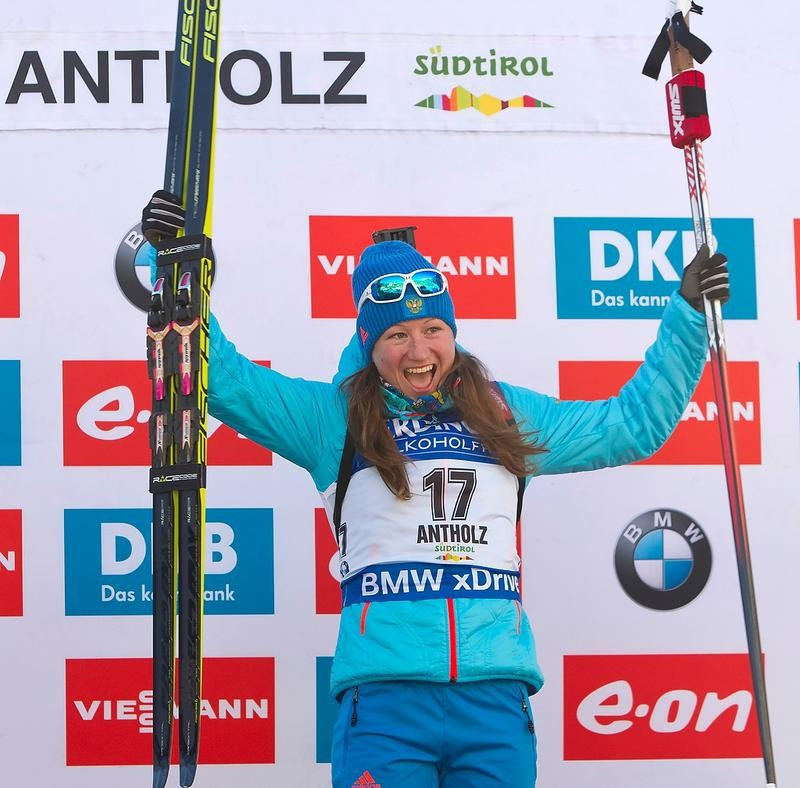 Podchufarova shoots clean on way to maiden IBU World Cup triumph