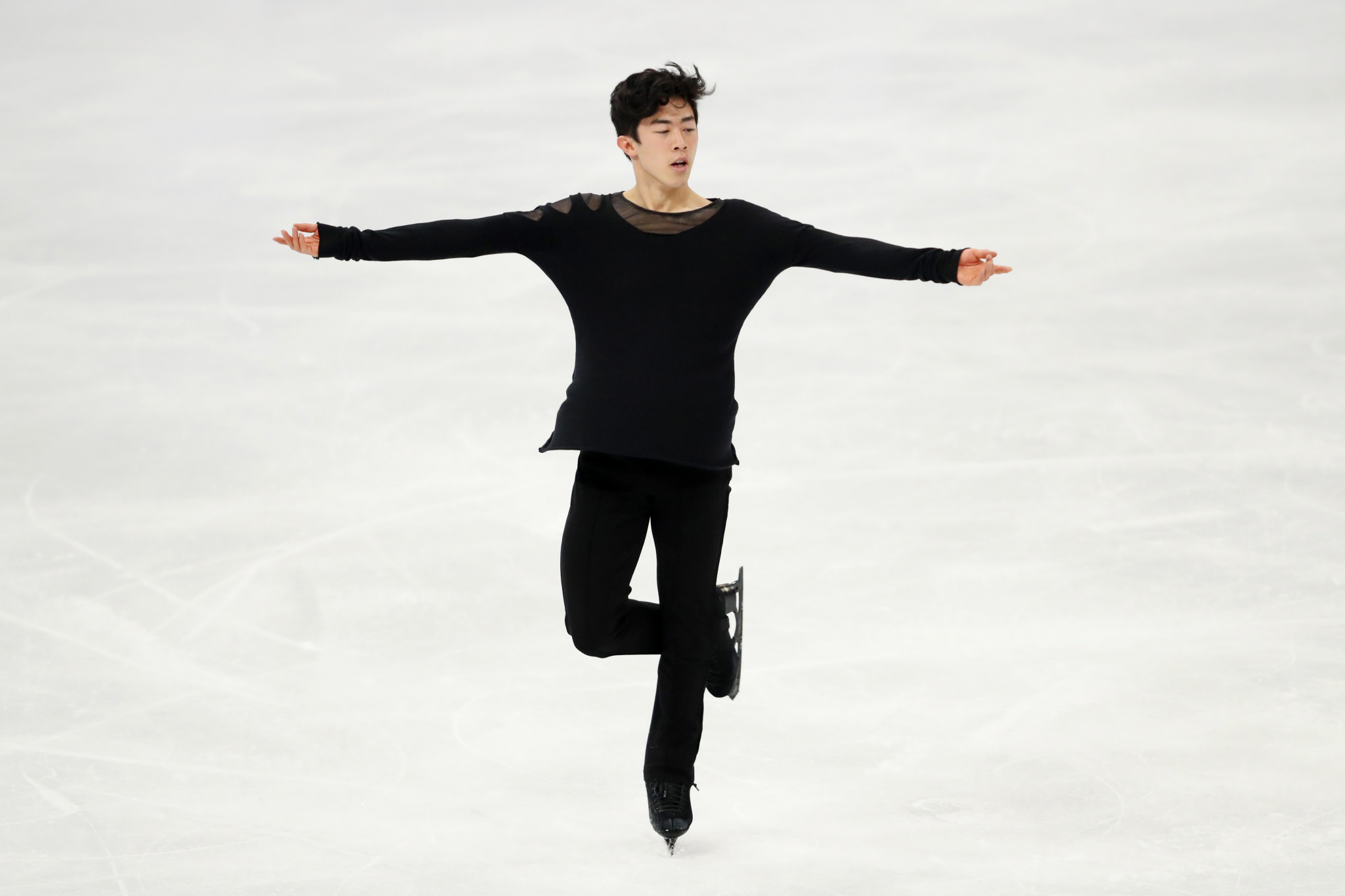 Chen produces impressive free routine to win men's singles title at World Figure Skating Championships