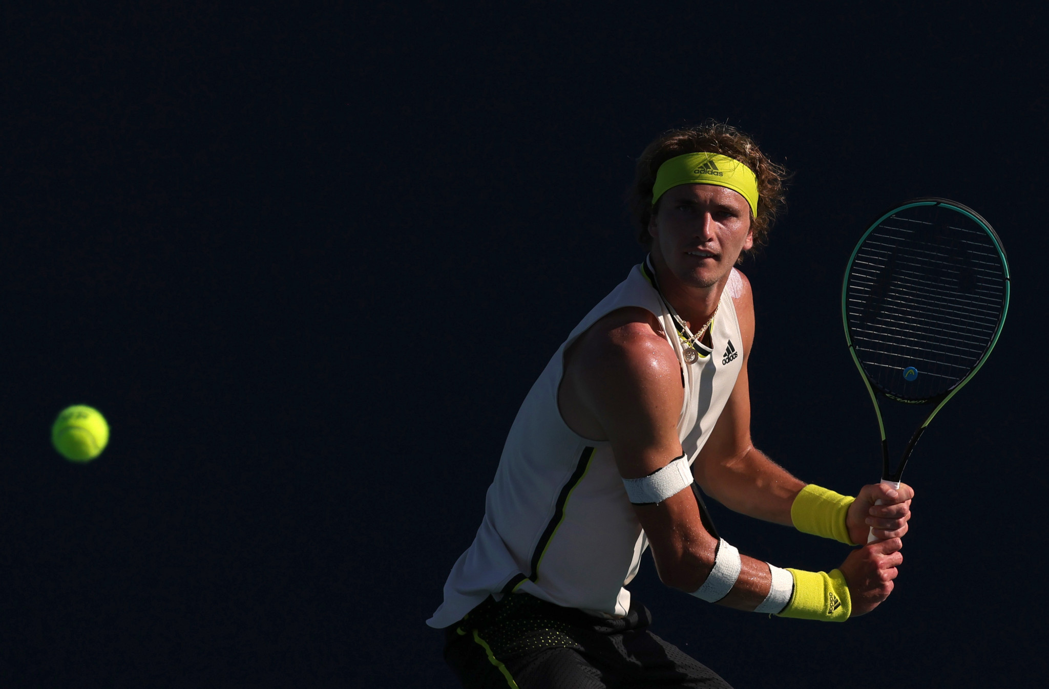 Alexander Zverev voiced his frustration with the world rankings earlier this month ©Getty Images