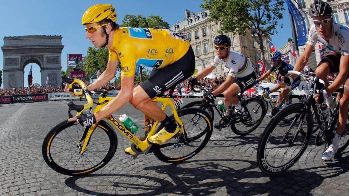 Sir Bradley Wiggins Tour de France winning bike up for sale on Facebook