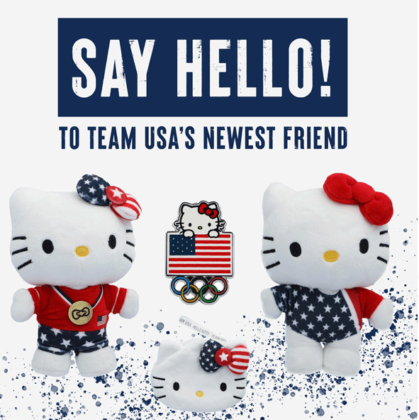 Team USA release Hello Kitty merchandise for Tokyo 2020
