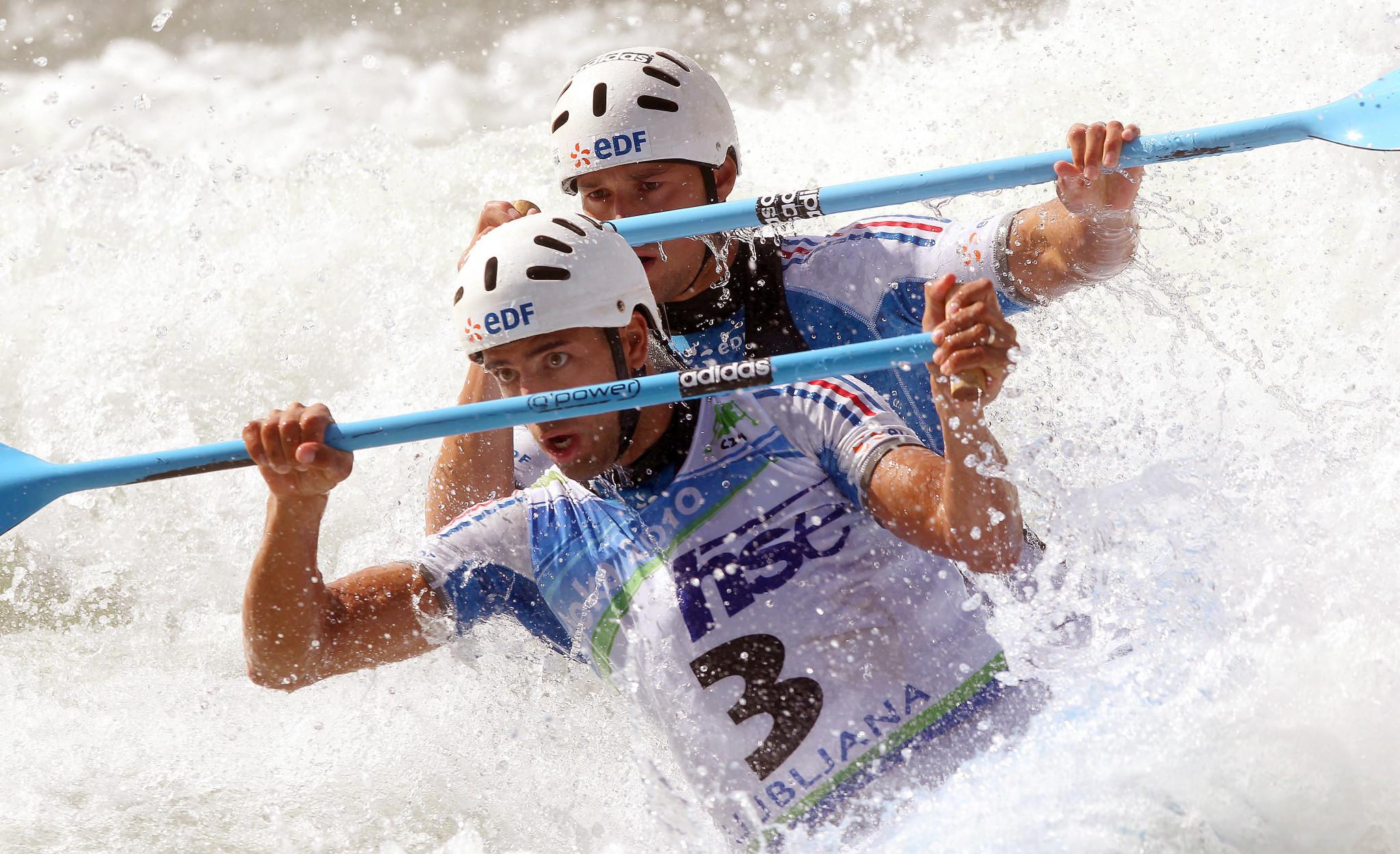 Ljubljana is set to host the 2024 Canoe Slalom European Championships ©Getty Images