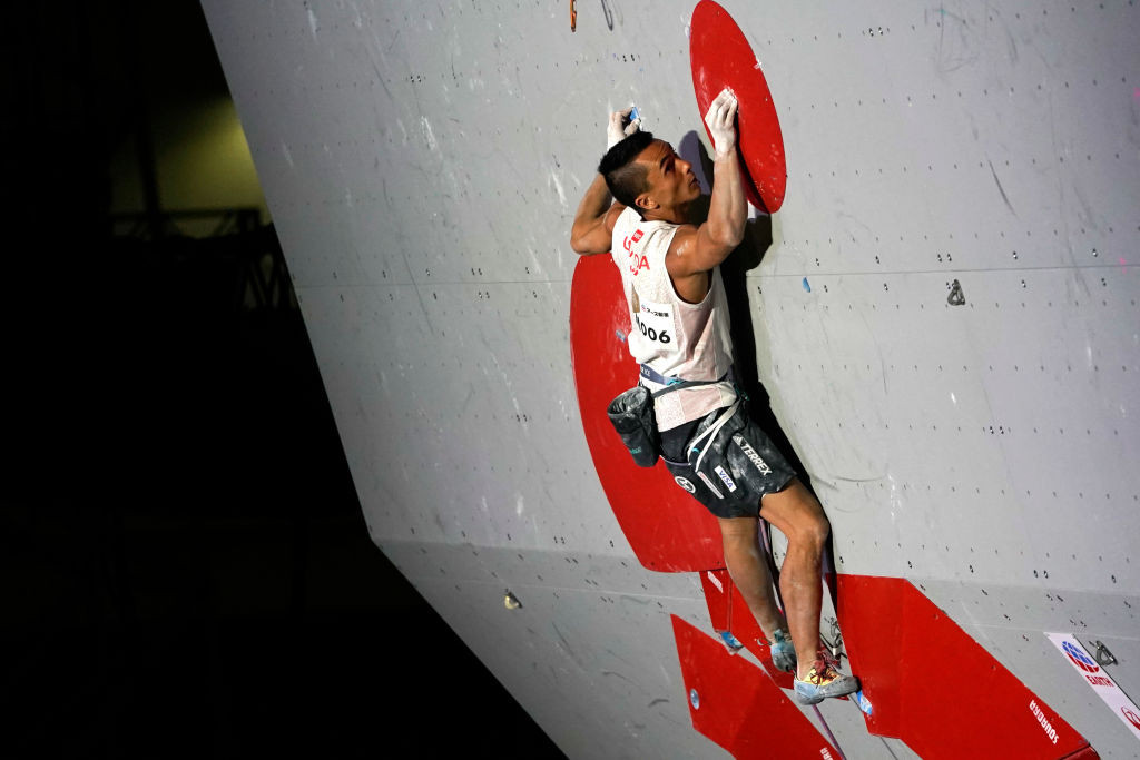 Multiple world champion Sean McColl is set to represent Canada in sport climbing at Tokyo 2020 ©Getty Images
