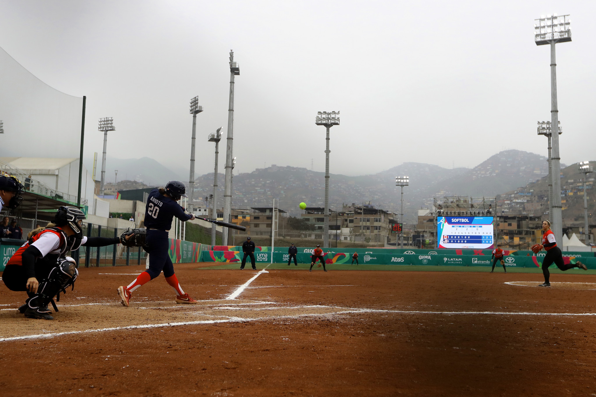 The Villa Maria del Triunfo complex hosted softball at the Lima 2019 Pan American Games ©Getty Images