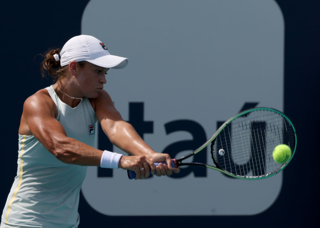 Barty and Osaka reach quarter-finals at Miami Open