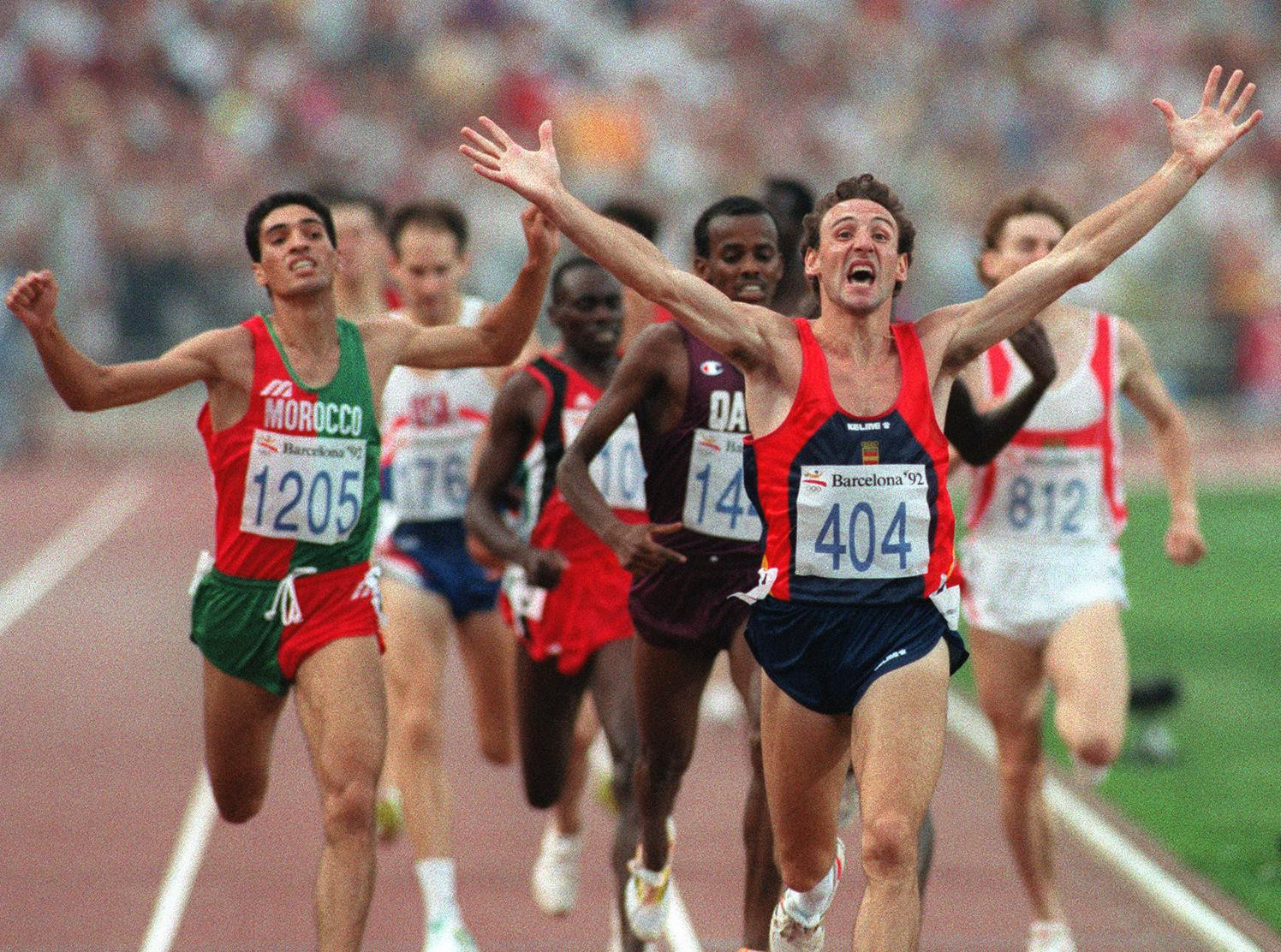 Barcelona 1992 men's 1500m champion Fermín Cacho is also considering legal action against Eufemiano Fuentes ©Getty Images