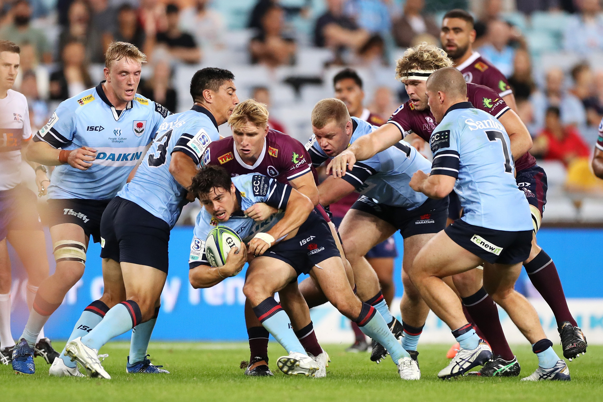 Super Rugby is set to feature 12 teams from 2022 ©Getty Images