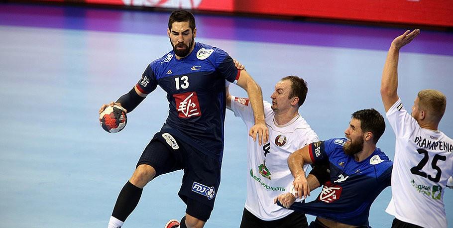 Holders France back on track at European Men's Handball Championship after seeing off Belarus