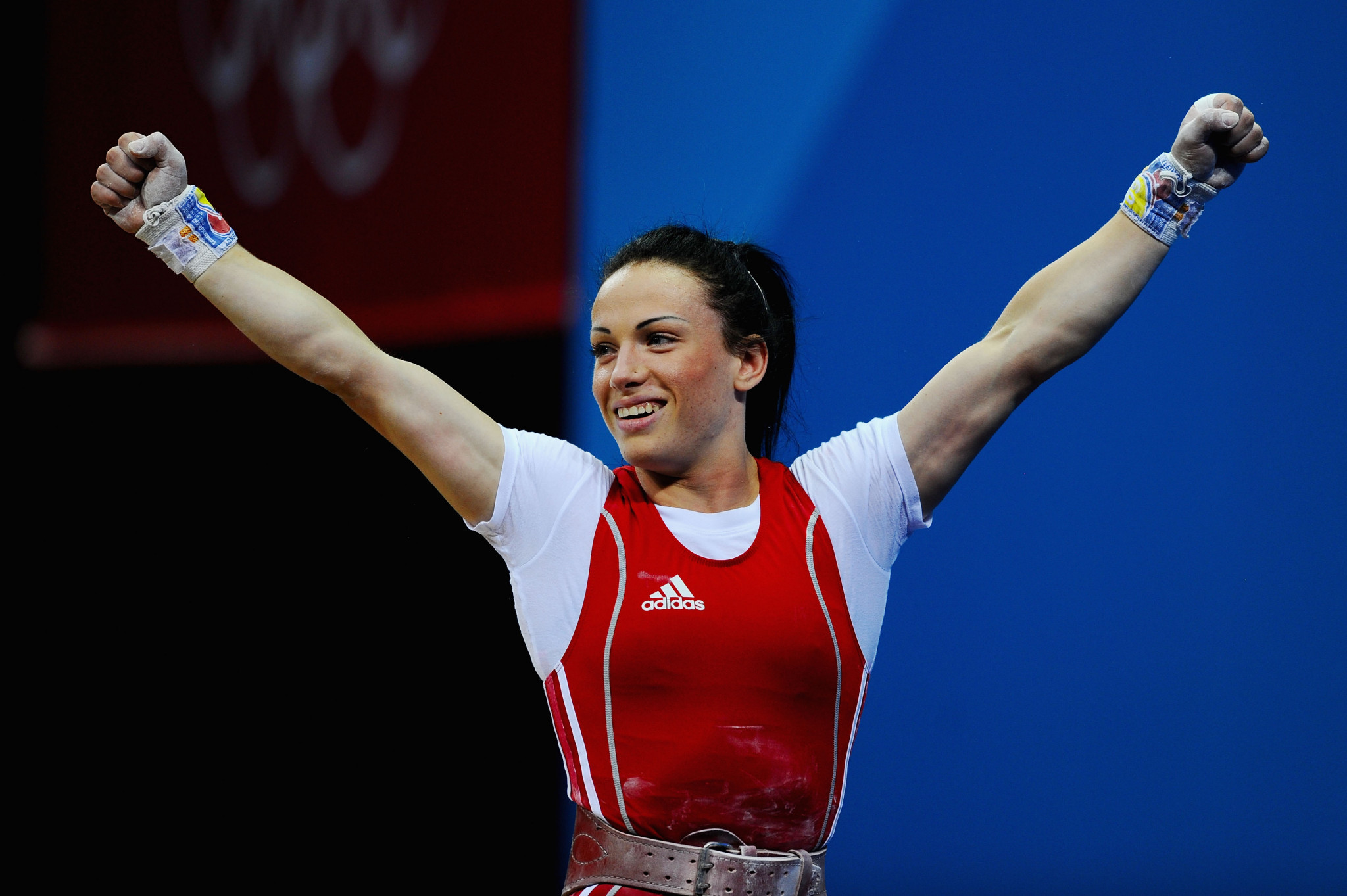 Moldovan weightlifter Cristina Iovu was stripped of her London 2012 Olympic medal when the IOC retested stored samples  ©Getty Images