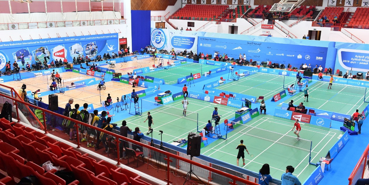 Strong start for seeds on first day of Dubai Para Badminton International