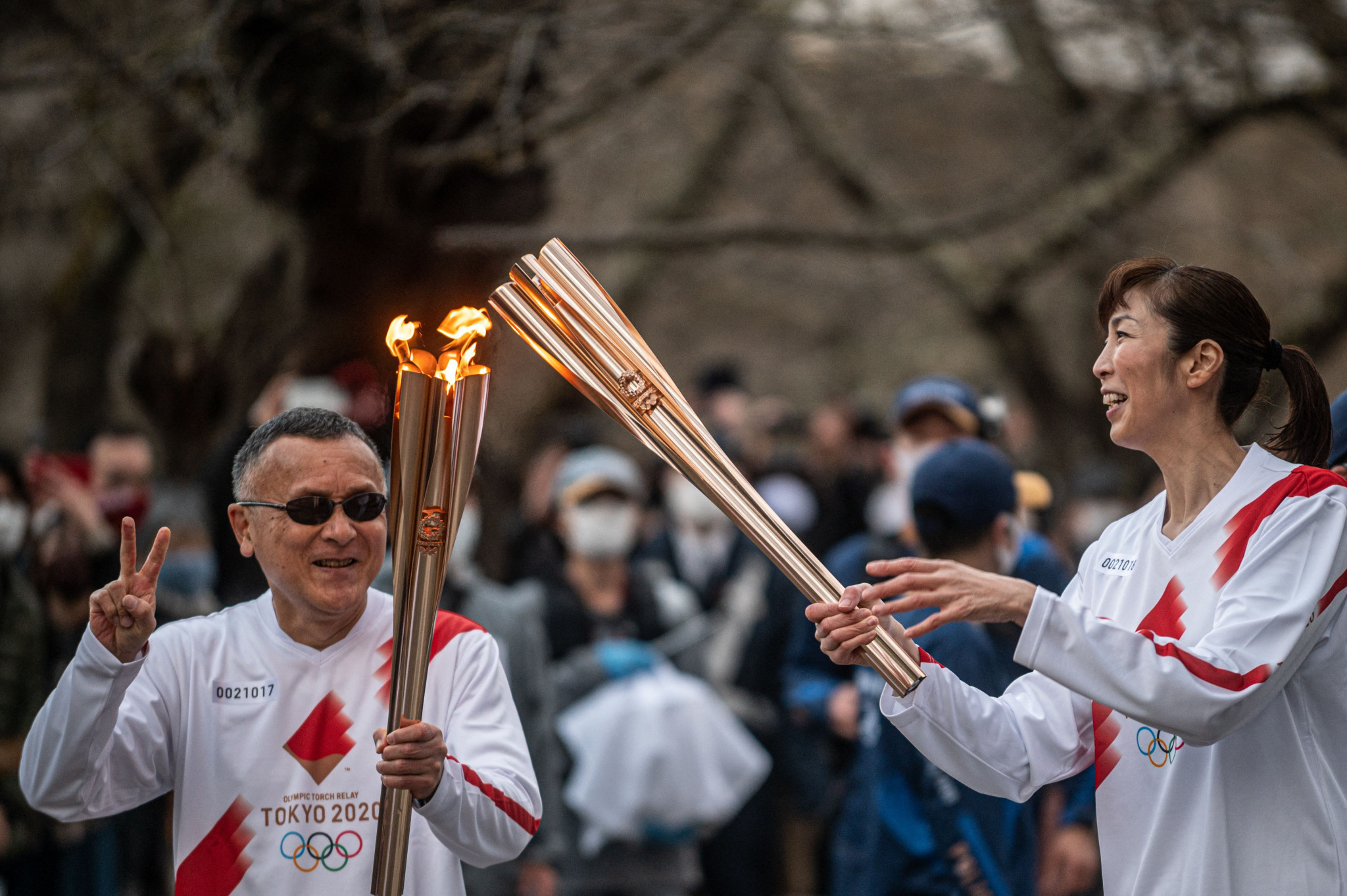 Torch Relay with a very different feel reaches third Prefecture in Japan