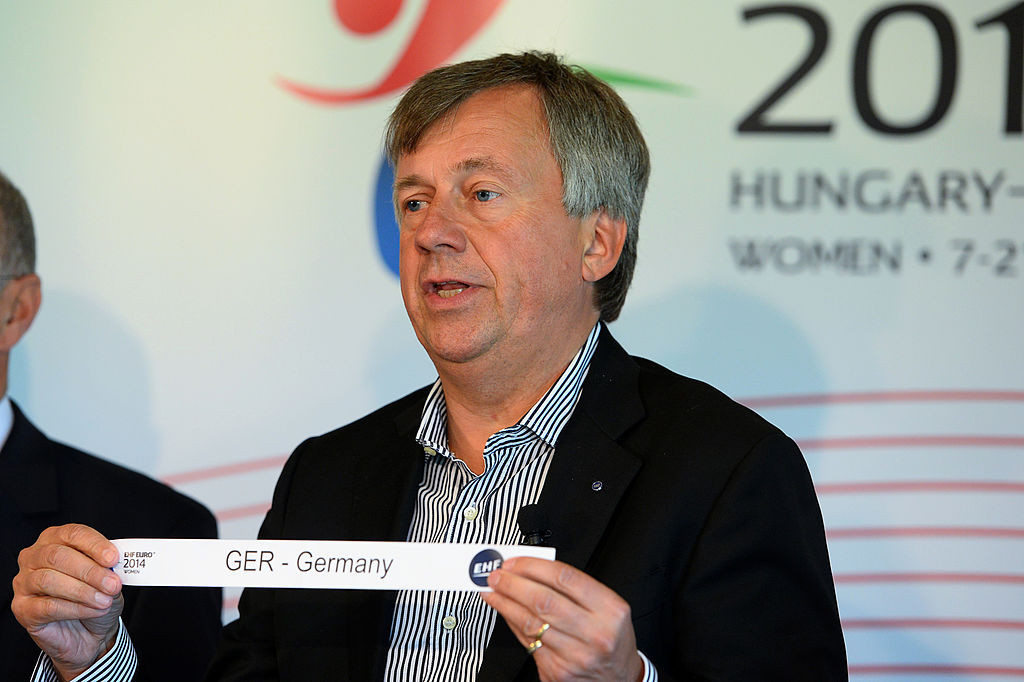 EHF President Michael Wiederer is standing unopposed for re-election at the Congress ©Getty Images