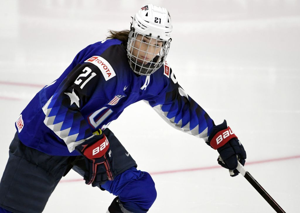 United States name 25-strong squad for IIHF Women's World Championship