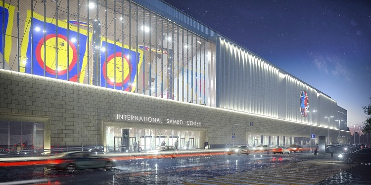 People from outside will be able to watch bouts take place inside the centre thanks to its mirror ceiling ©FIAS