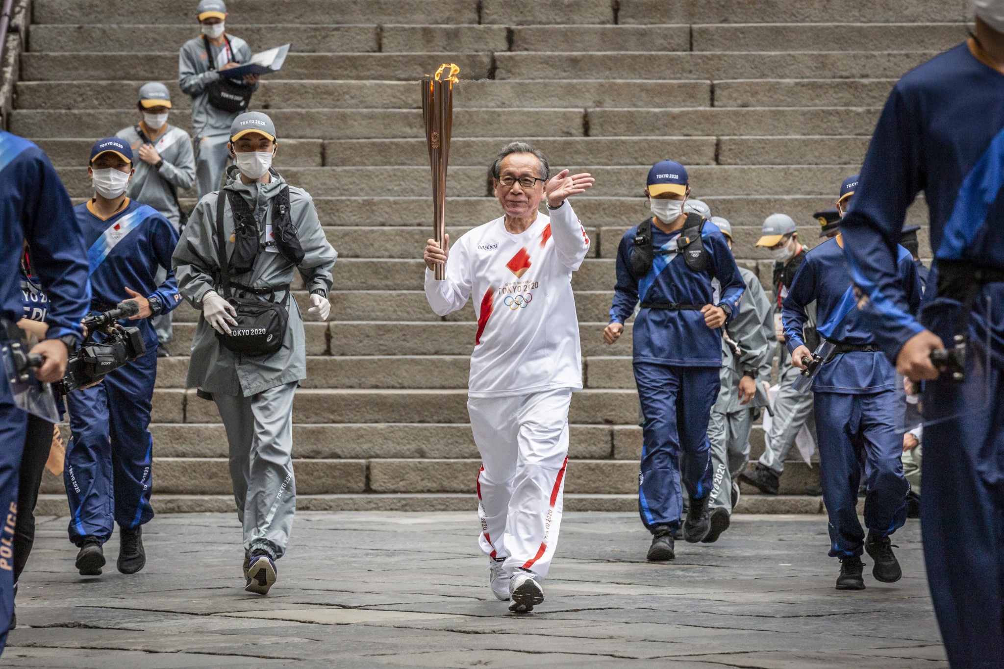 Olympic Torch Relay leg in Osaka cancelled due to rise in COVID-19 cases
