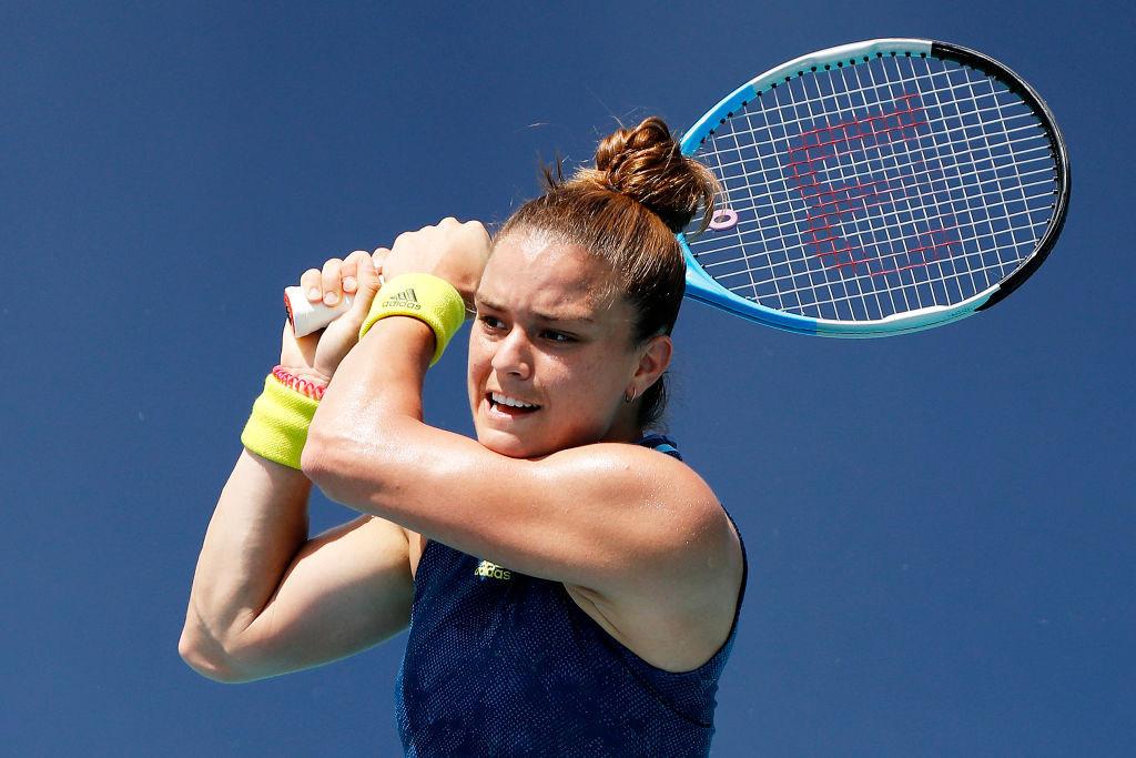 Sakkari stuns Osaka to reach Miami Open semi-finals