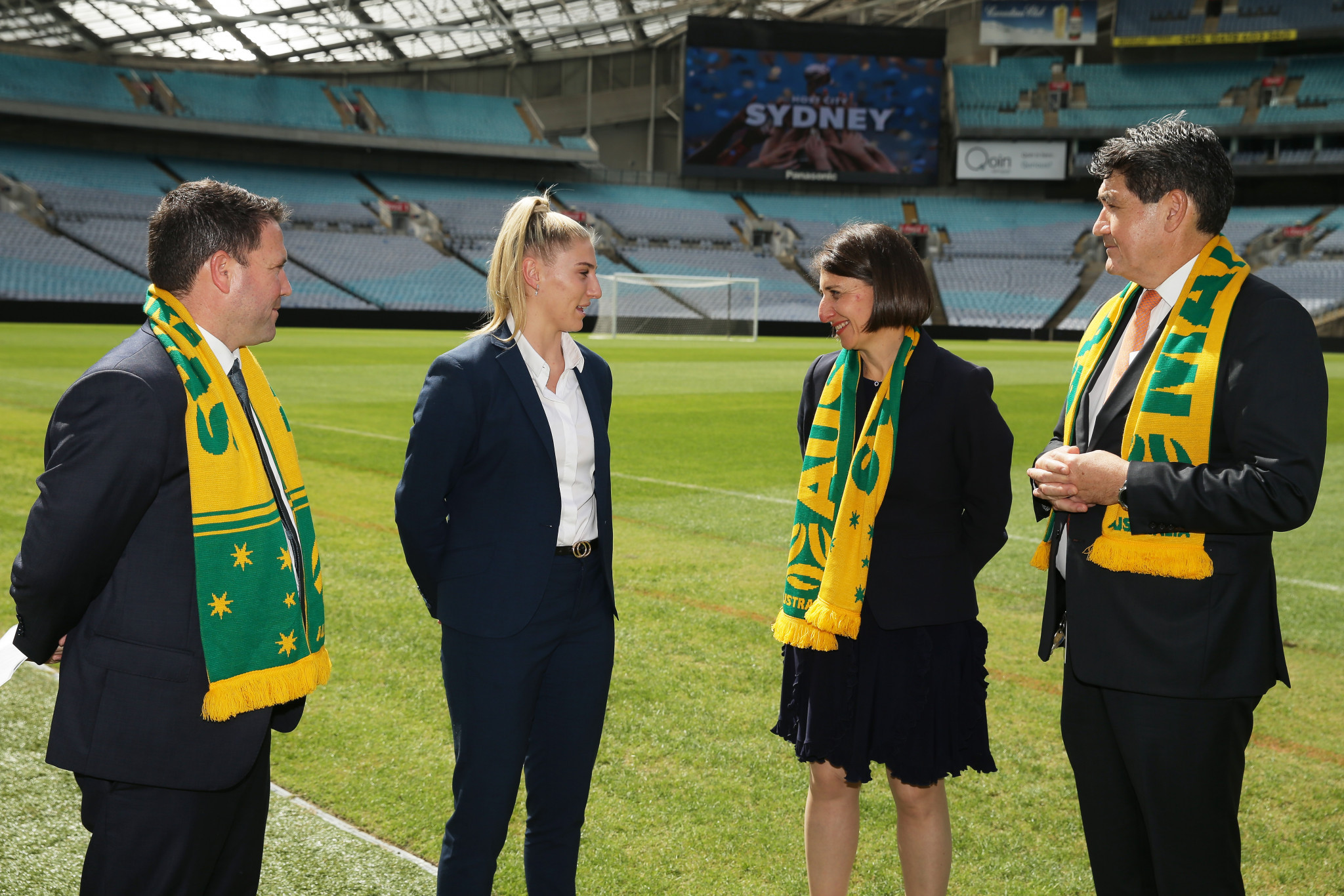 Sydney's Stadium Australia has been chosen to host the 2023 Women's World Cup final ©Getty Images