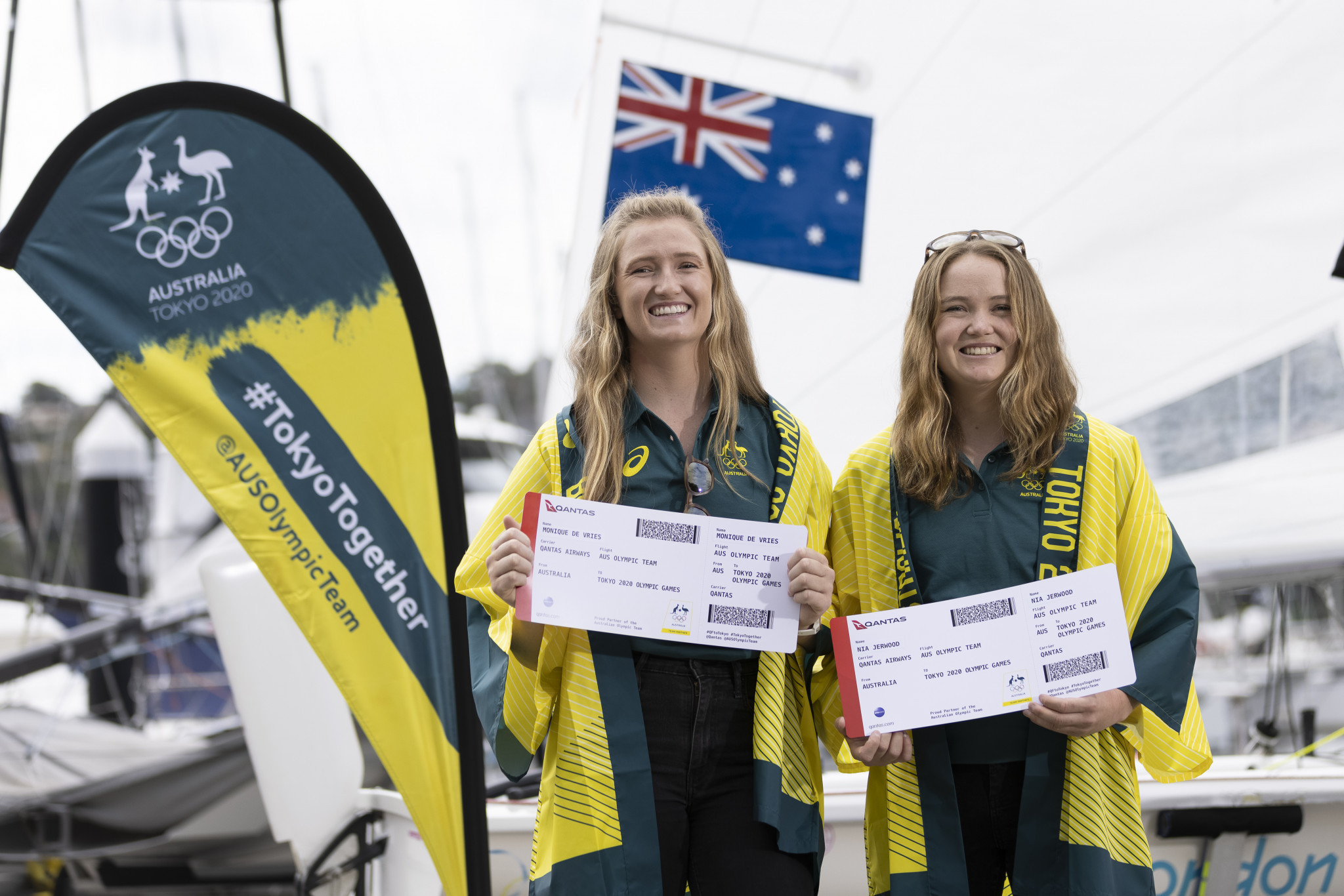 De Vries and Jerwood added to Australian sailing team for Tokyo 2020