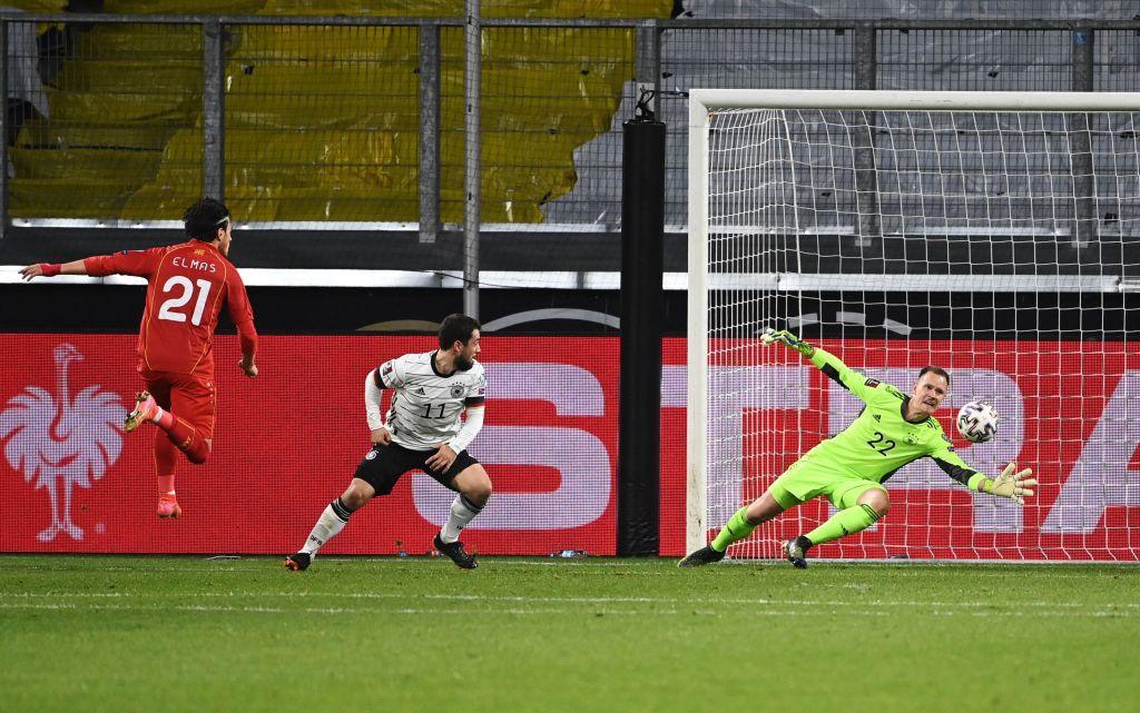 Deutschland hat Nordmakedonien gestern Abend mit 2: 1 besiegt. © Getty Images