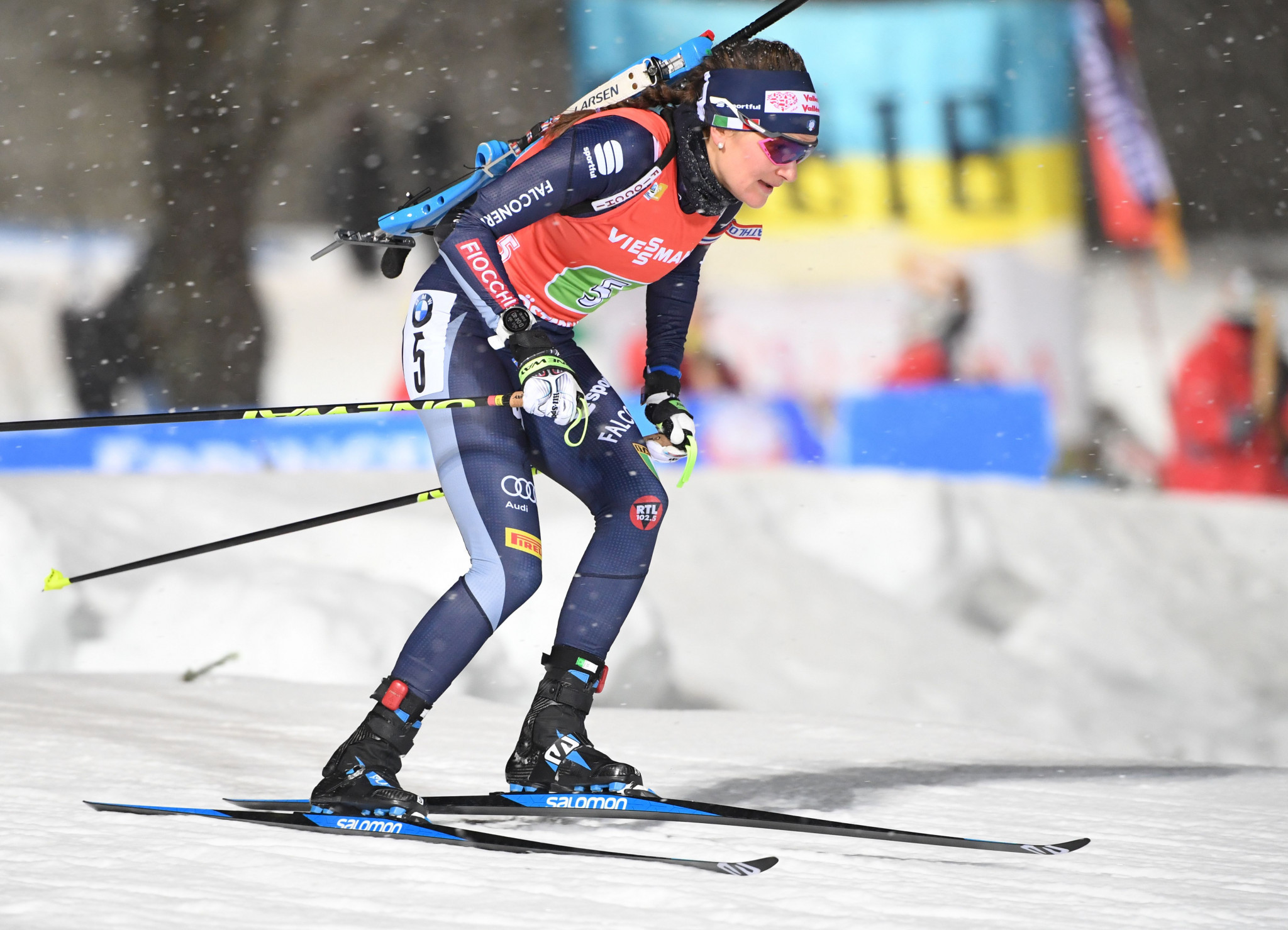 Nicole Gontier has retired from biathlon at the age of 29 ©Getty Images