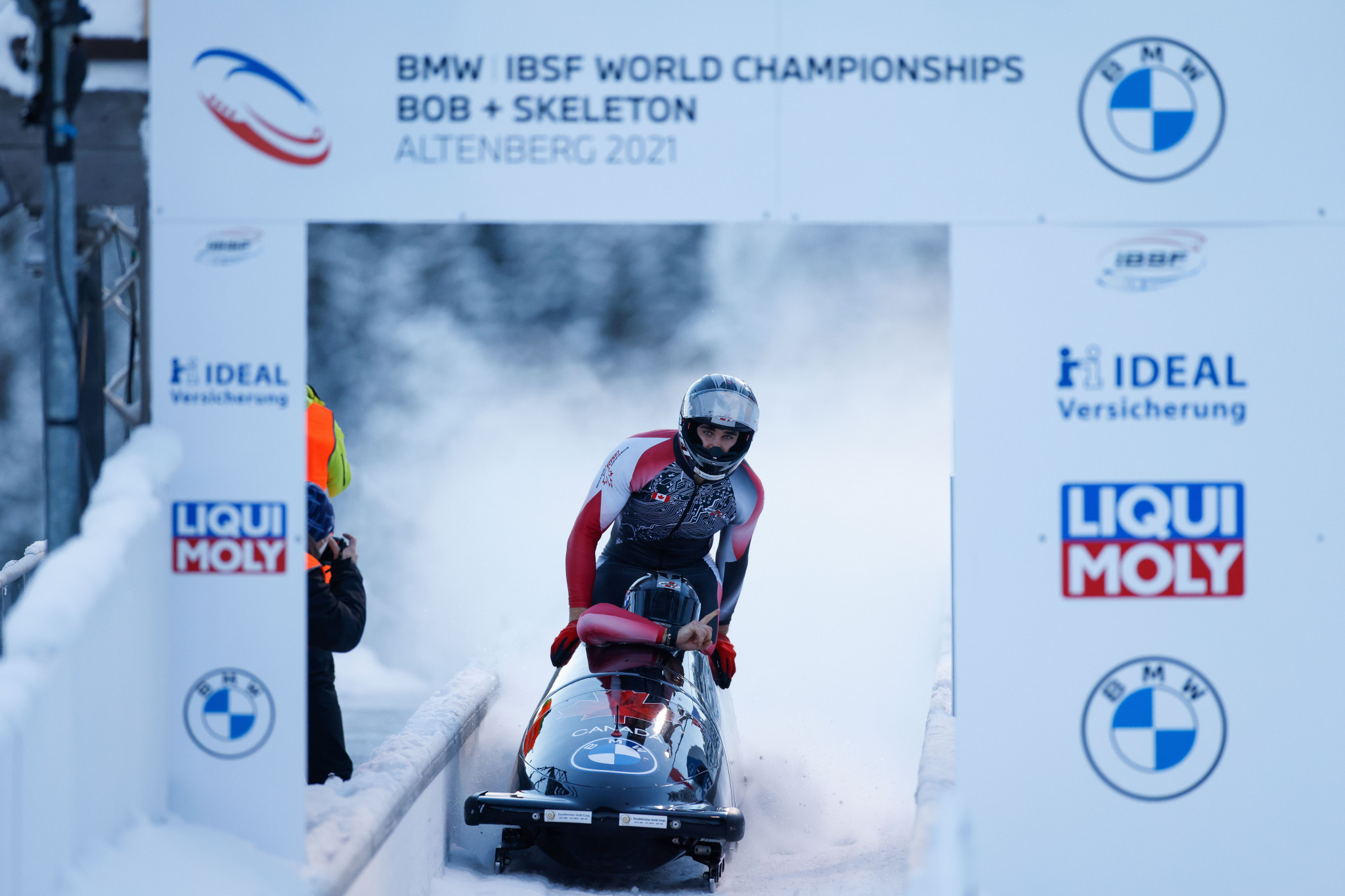 Altenberg held the 2021 IBSF World Championships ©Getty Images