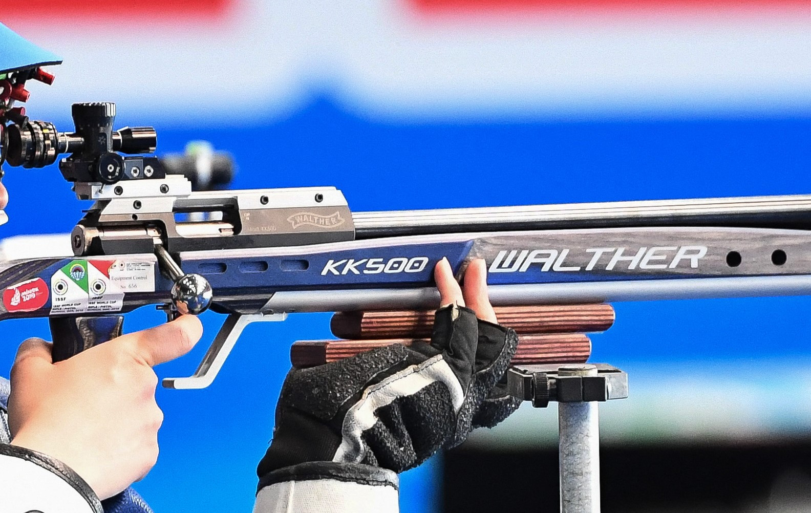 Walther will send top-of-the-line competition guns to developing and new athletes as part of the agreement ©Getty Images