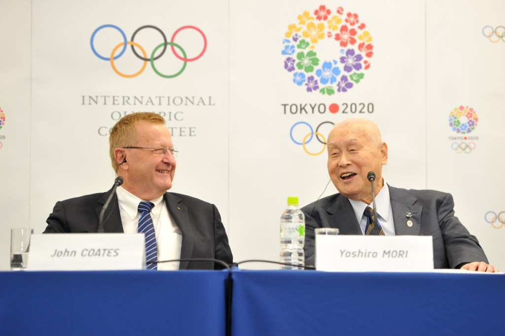 IOC vice-president John Coates says they couldn't be happier with Tokyo 2020's preparations ©Tokyo 2020