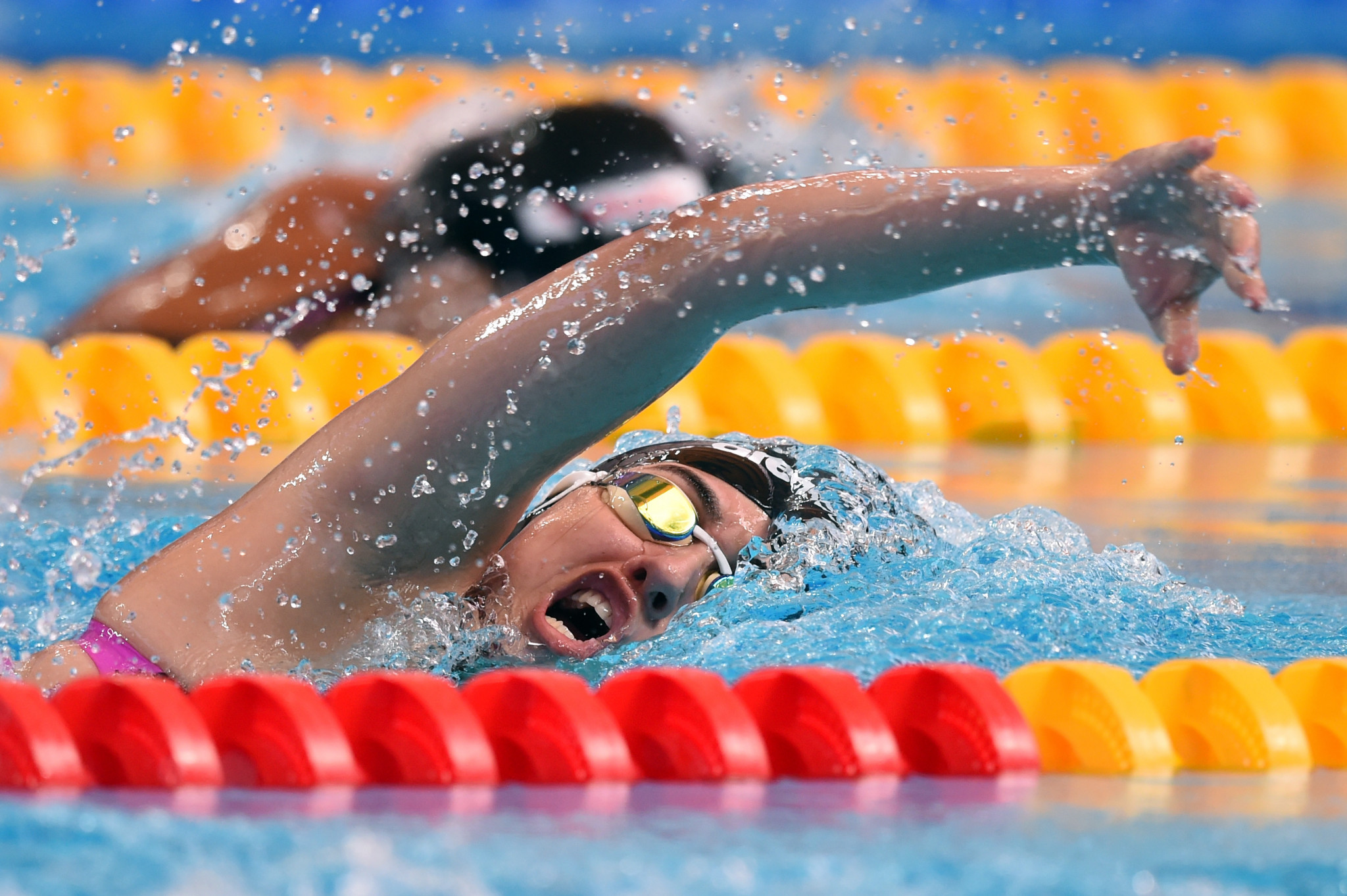 Swimmer Nada Arkaji was among two women who represented Qatar at the Rio 2016 Olympics  ©Getty Images