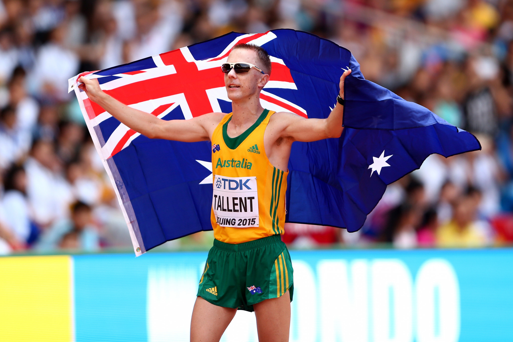 Australia's four-time Olympic race walking medallist Jared Tallent has announced his retirement after injury forced him to give up his Tokyo 2020 challenge ©Getty Images
