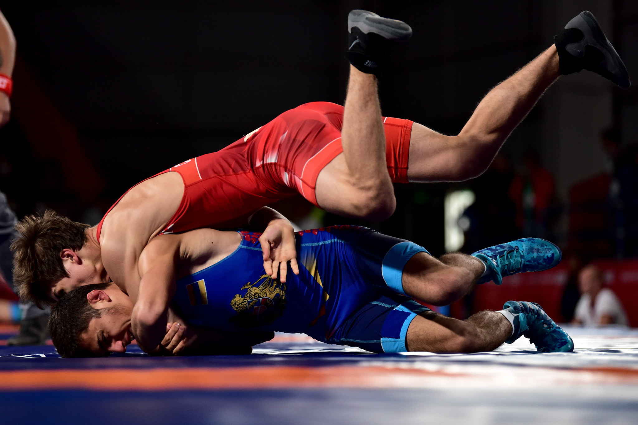 Host nation Tunisia claim four places at Tokyo 2020 on first day of UWW Africa and Oceania Olympic qualifier