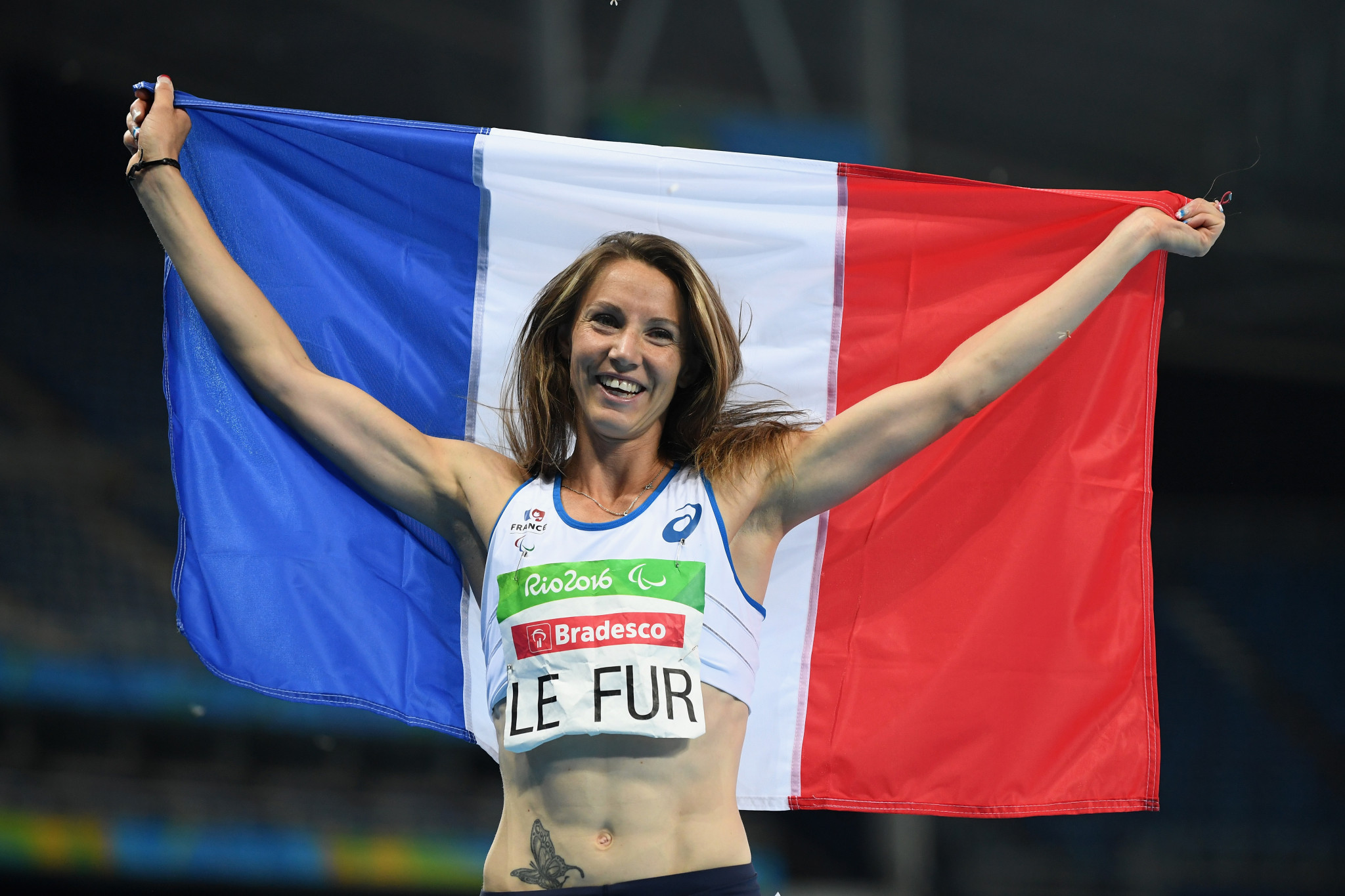 Marie-Amélie Le Fur has won three Paralympic gold medals ©Getty Images