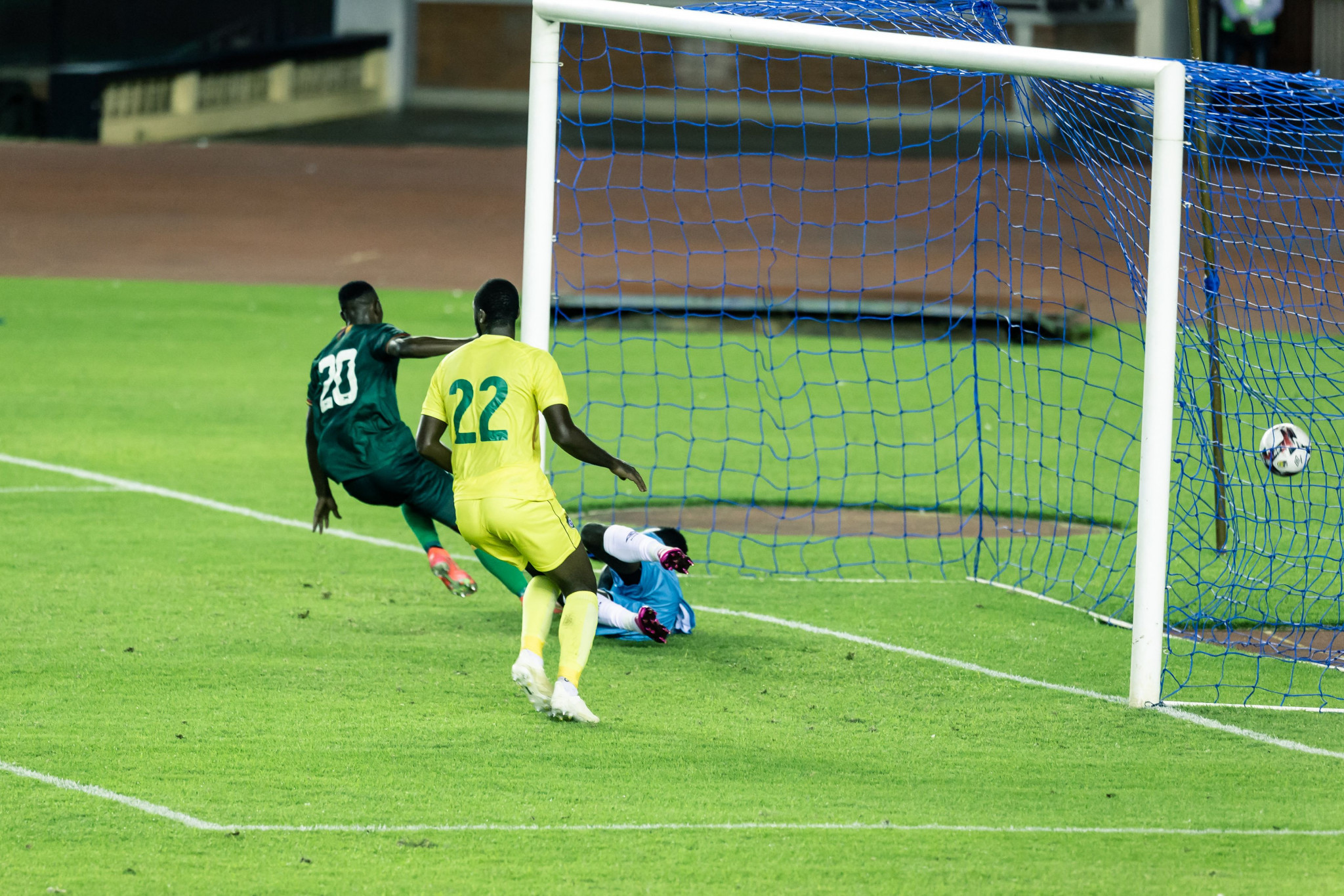 The final round of Africa Cup of Nations qualifiers took place last month ©Getty Images
