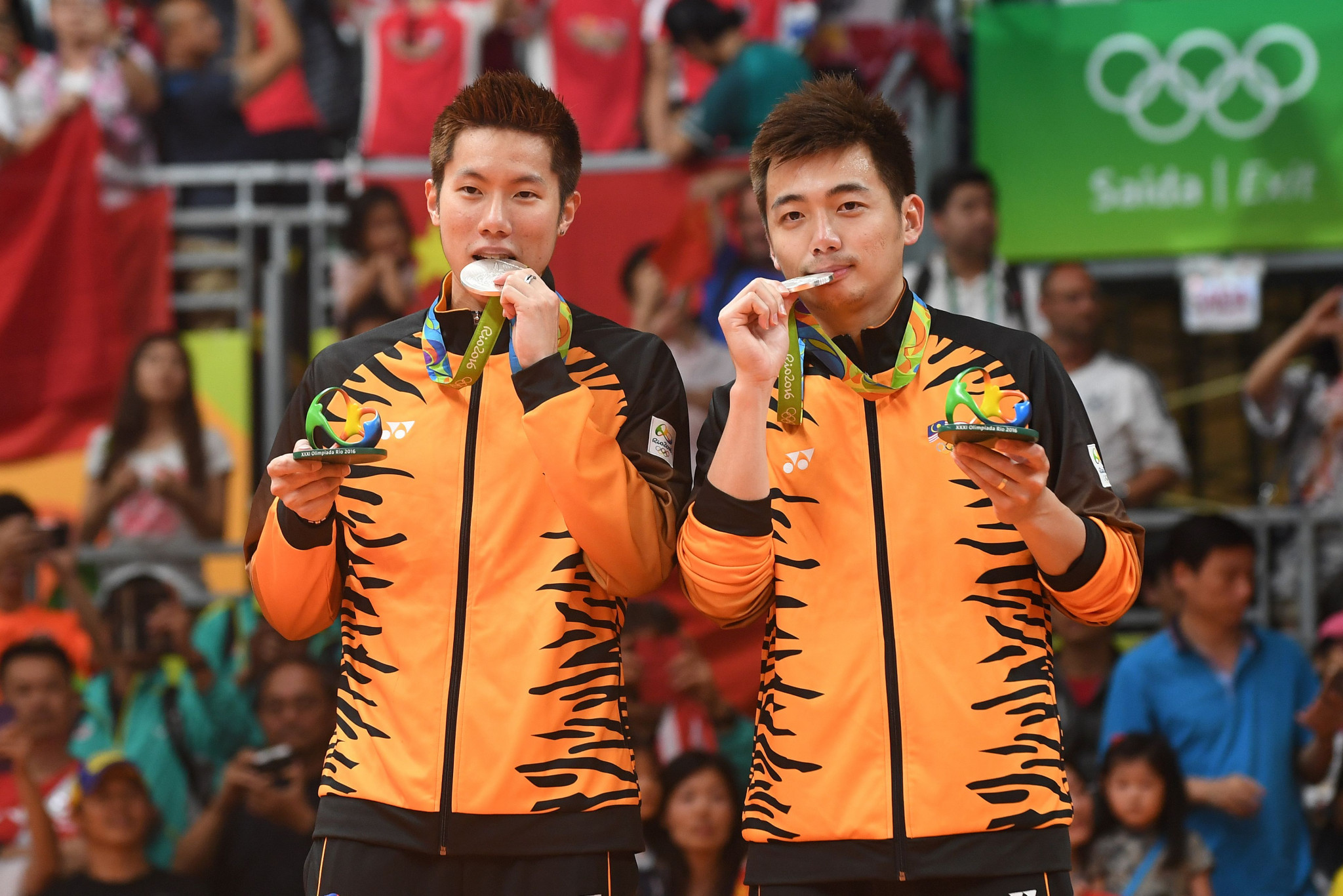 Goh V Shem and Tan Wee Kiong earned mixed doubles silver at Rio 2016 as Malaysia's wait for a first gold medal in any sport continues ©Getty Images