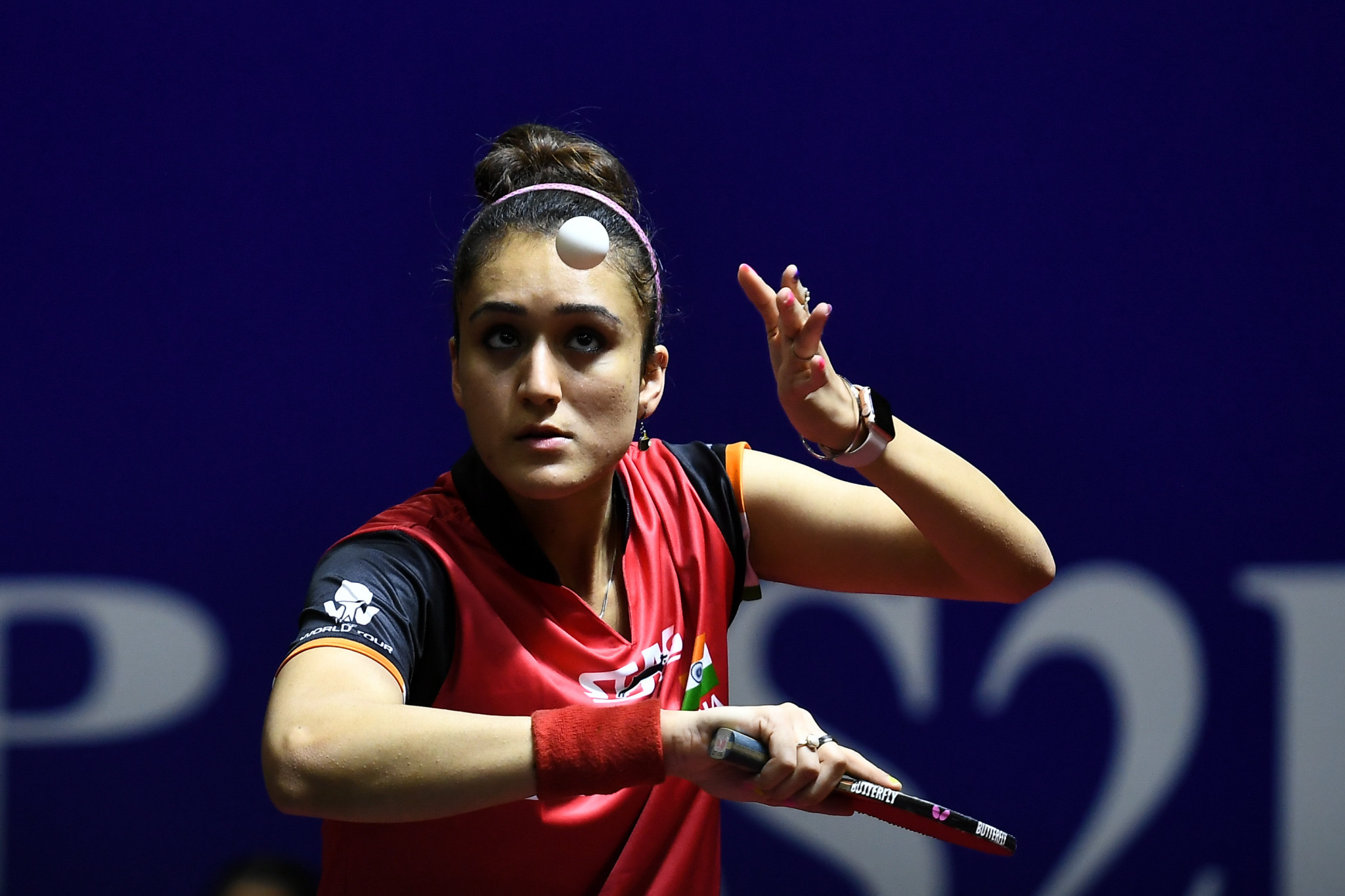 Manika Batra claimed the final Asian spot in the women's singles ©Getty Images