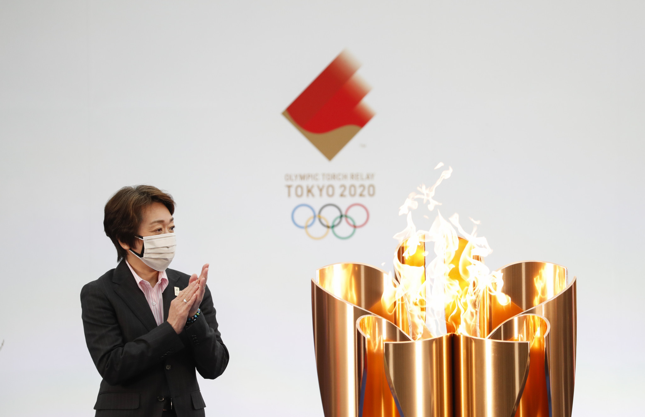 Tokyo 2020 President Seiko Hashimoto has yet to make a decision on whether to cancel the Osaka leg of the Olympic Torch Relay after new coronavirus restrictions were introduced in the city ©Getty Images