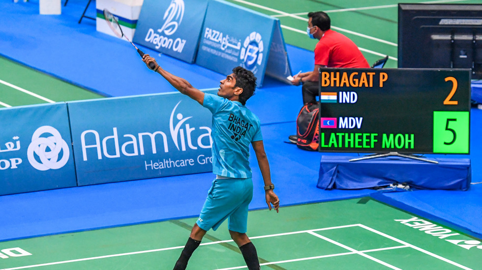 Pramod Bhagat will face compatriot Nitesh Kumar in the final of the men's singles SL3 in Dubai ©BWF