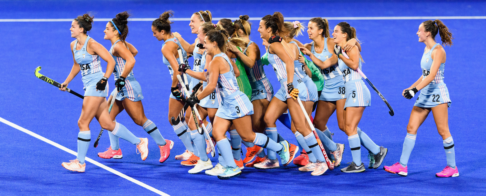 Men's Olympic champions Argentina beaten by Germany on return to Hockey Pro League