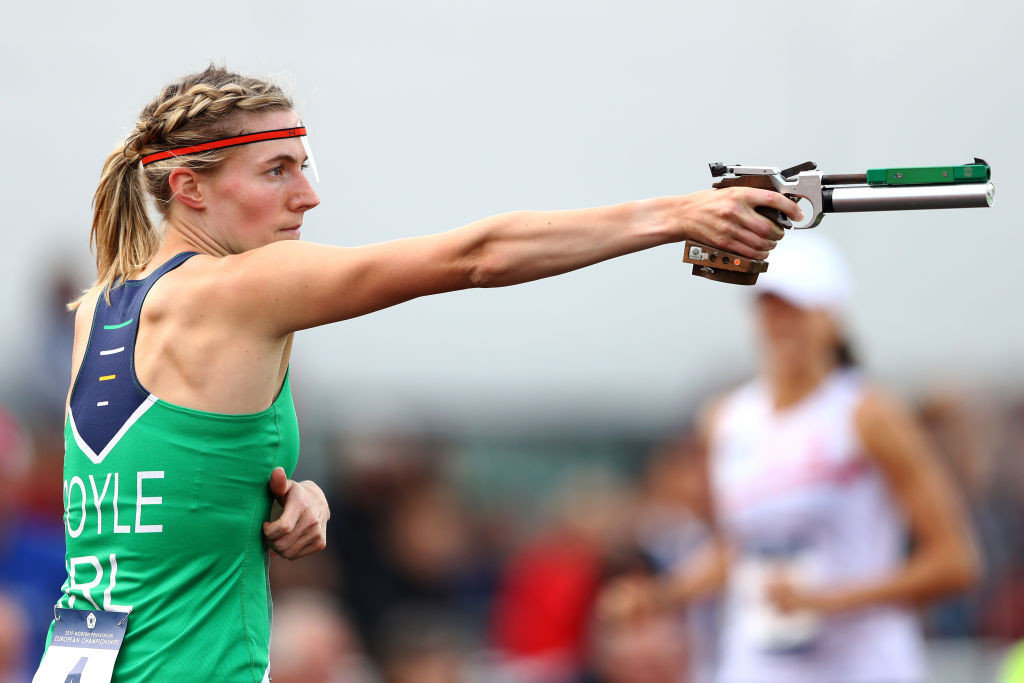 Ireland's double Olympian Natalya Coyle is one of five pentathletes who will contest the single European place on the UIPM Athletes' Committee at the June election ©Getty Images