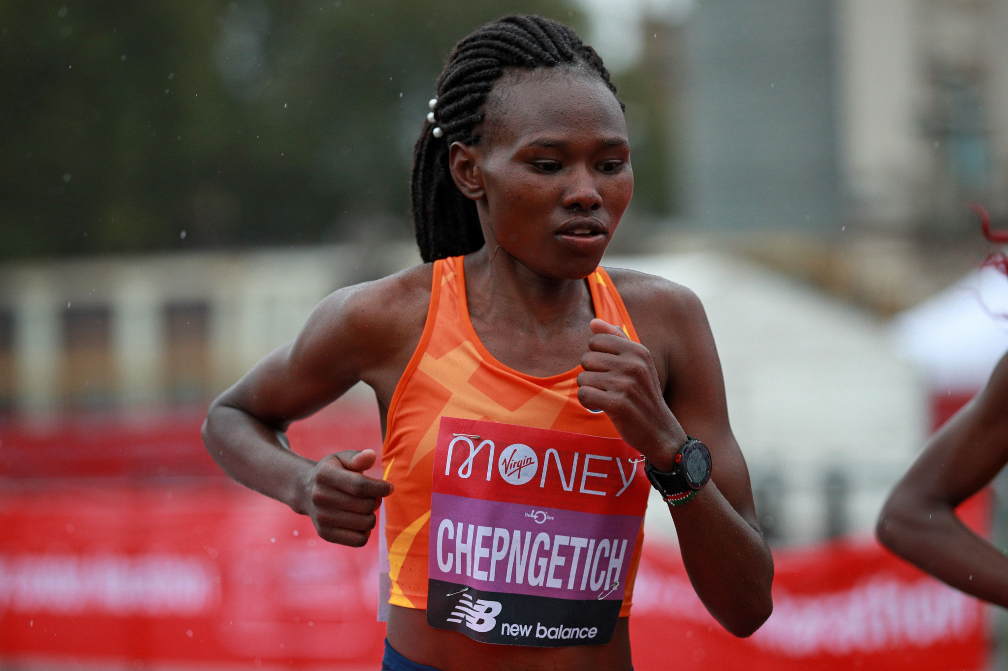Kenya's Ruth Chepngetich smashed the world record for the women's half marathon in Istanbul ©Getty Images