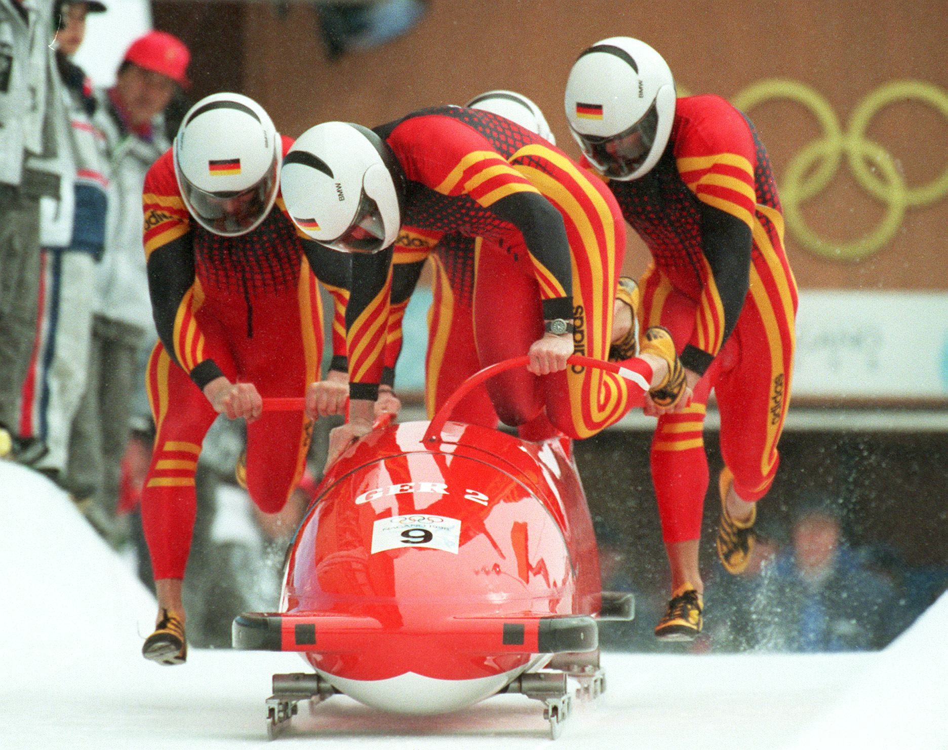Christoph Langen piloted German sleds to four Olympic medals in all ©Getty Images