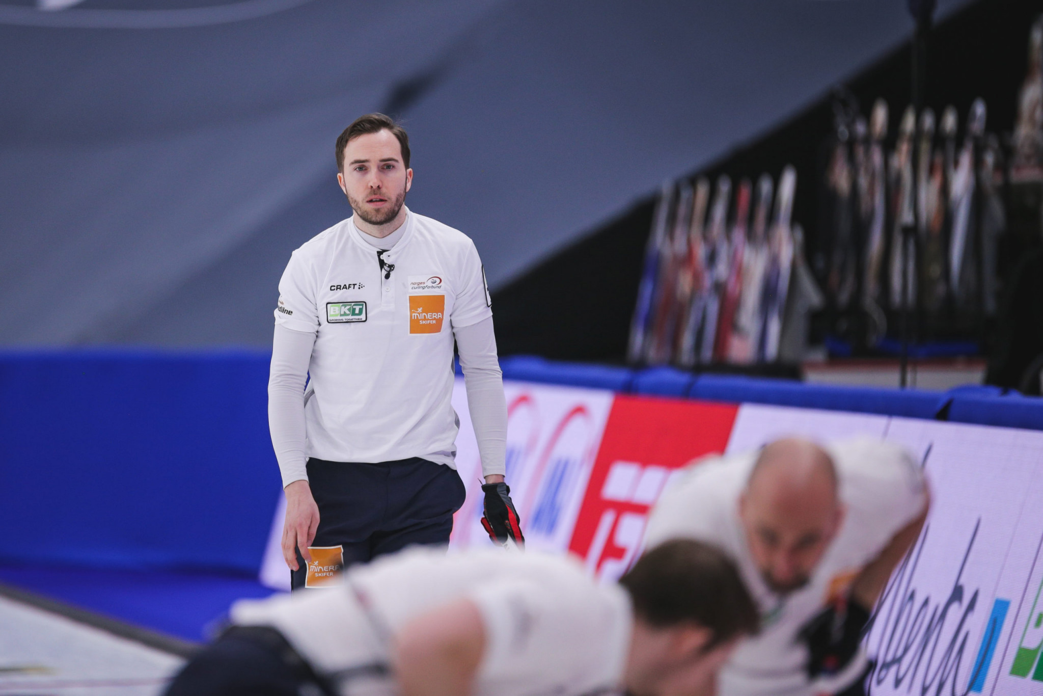 Norway only team to remain undefeated after day three of World Men's Curling Championship
