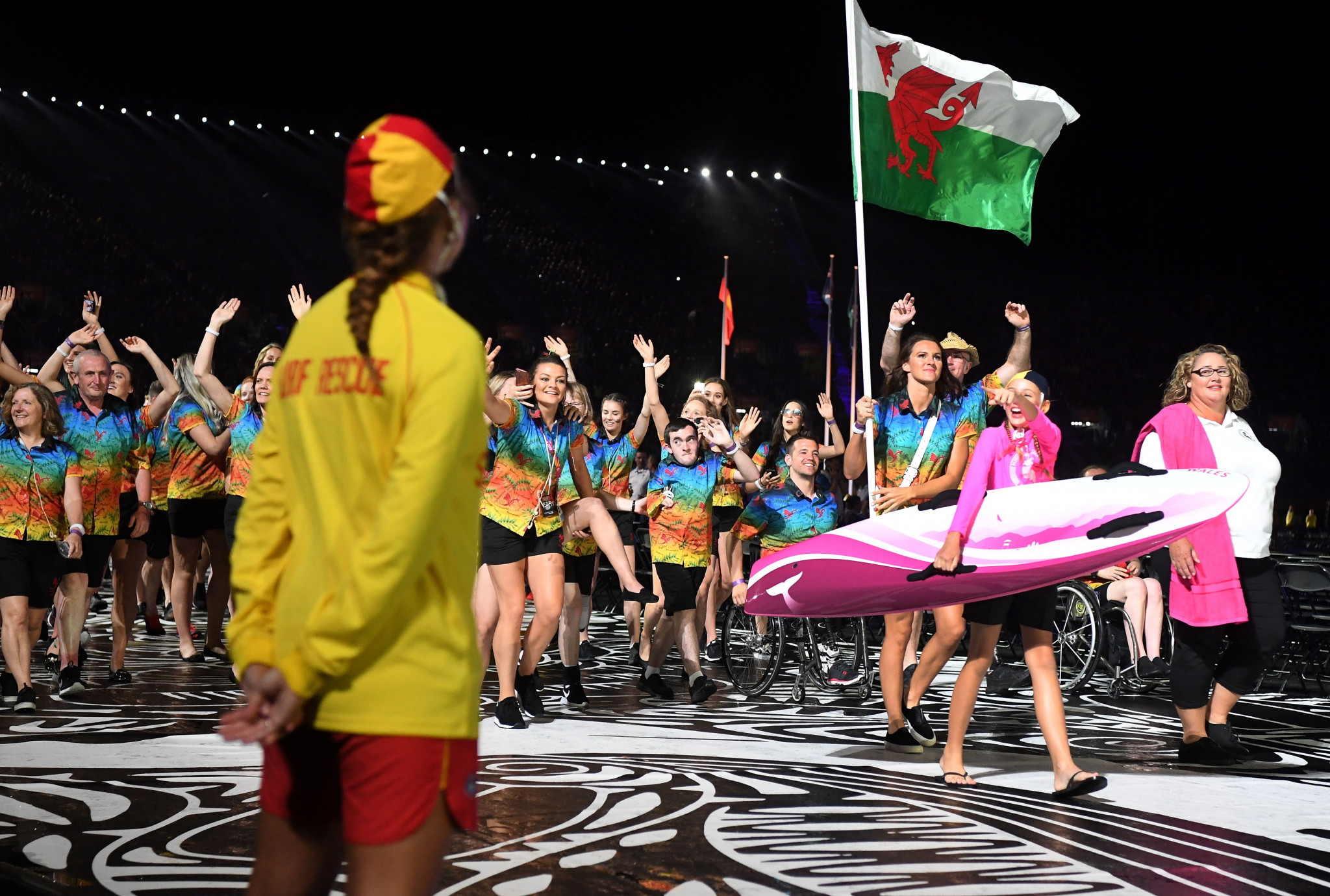 Wales won 10 gold medals at Gold Coast 2018 ©Getty Images