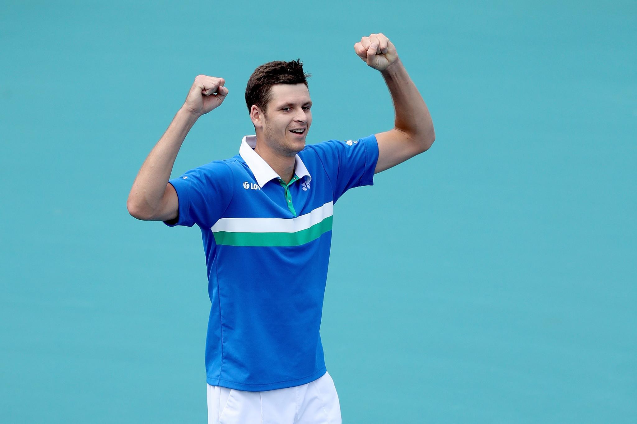 Hurkacz wins underdog men's singles final at Miami Open
