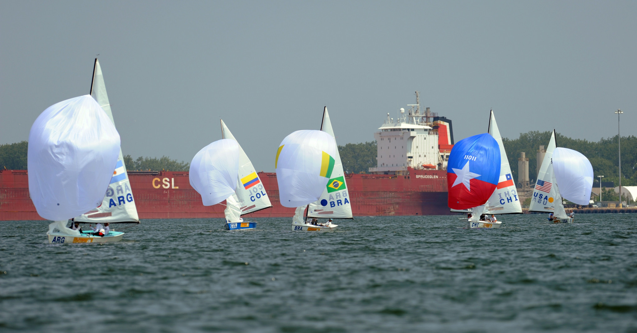 Twelve medal events in sailing are now due to be contested at Santiago 2023  ©Getty Images
